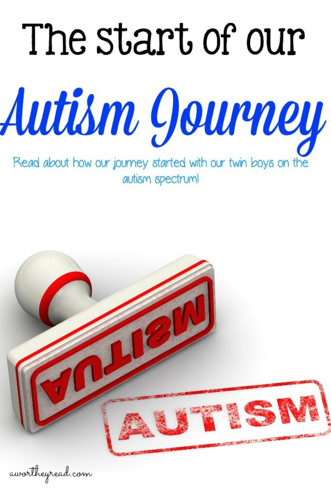 Read about how our Autism Journey started back when the twins were 18 months. The Start of our Autism Journey