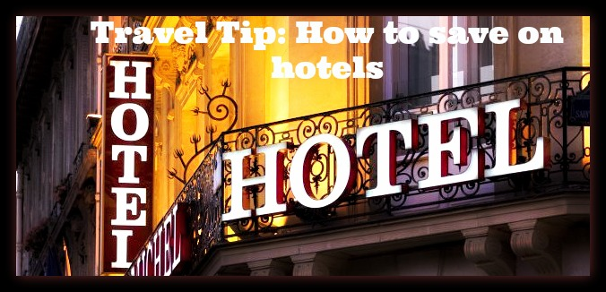 how to save on hotel