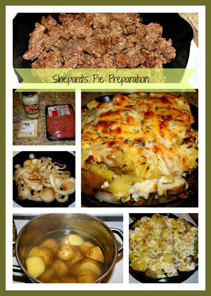 shepards pie preparation