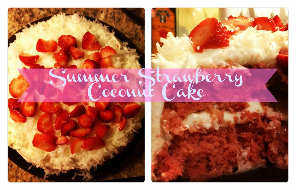 Summer Strawberry Coconut