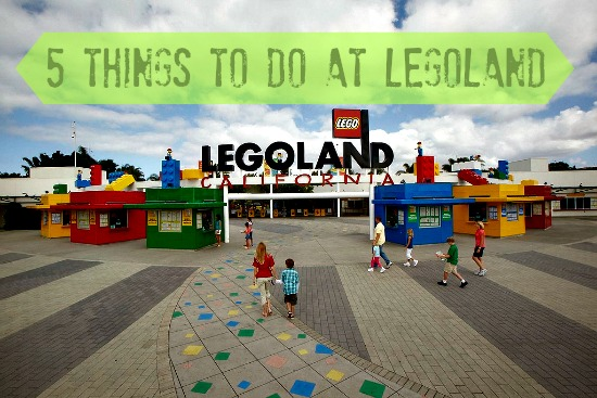 5 things to do at legoland