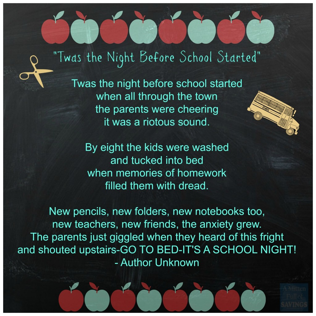 Image result for back to school poem