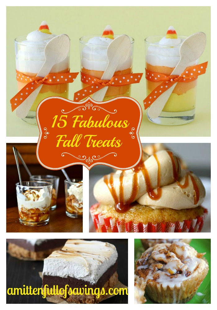 15 Fall Treats