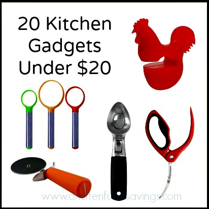 20 kitchen gadgets under 20 bucks