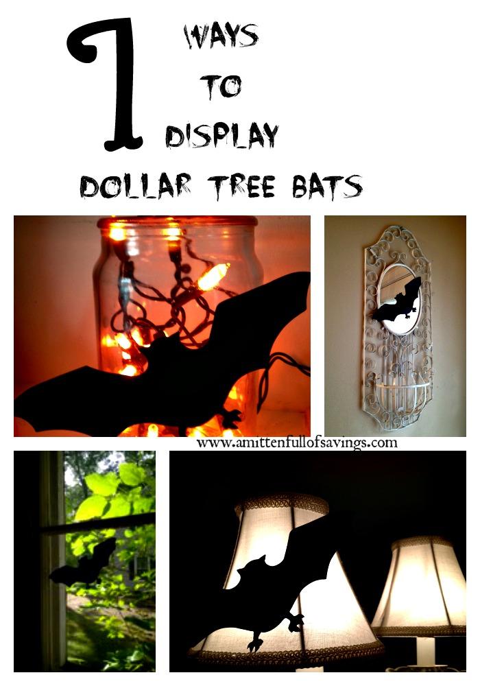 7 ways to display dollar tree bats