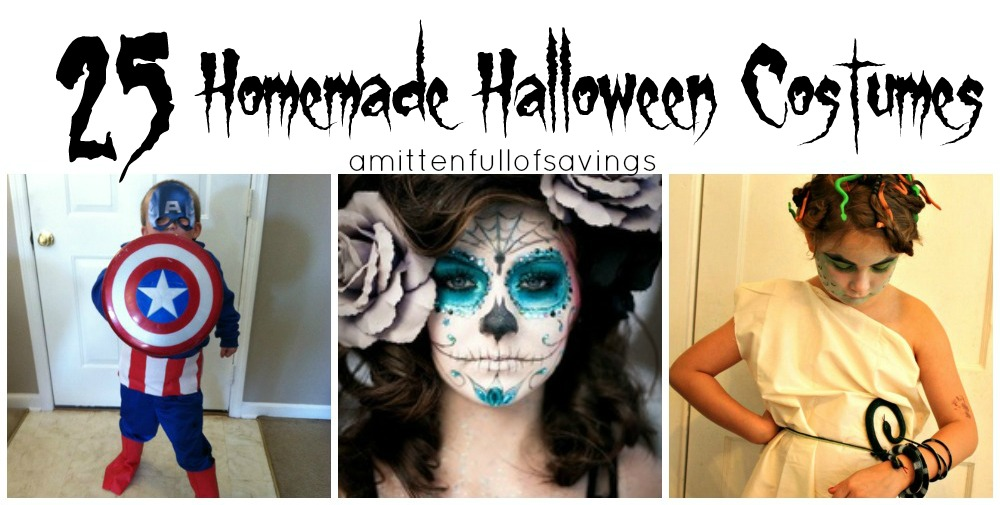 sc 1 st  A Worthey Read & Halloween Costume Ideas: Homemade Halloween Costumes