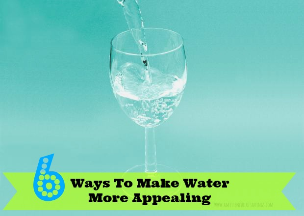 ways to make water appealing