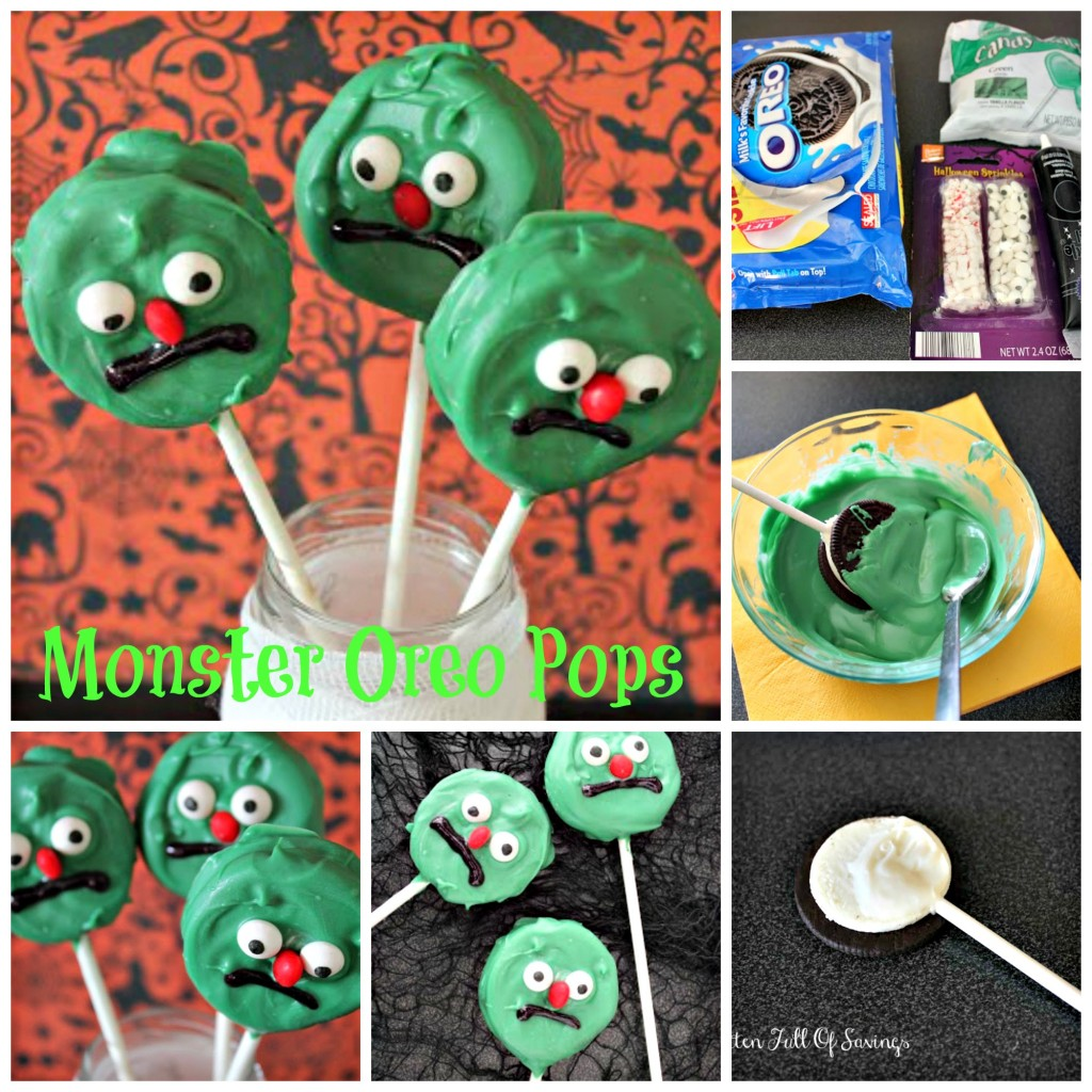 Monster Oreo Pops