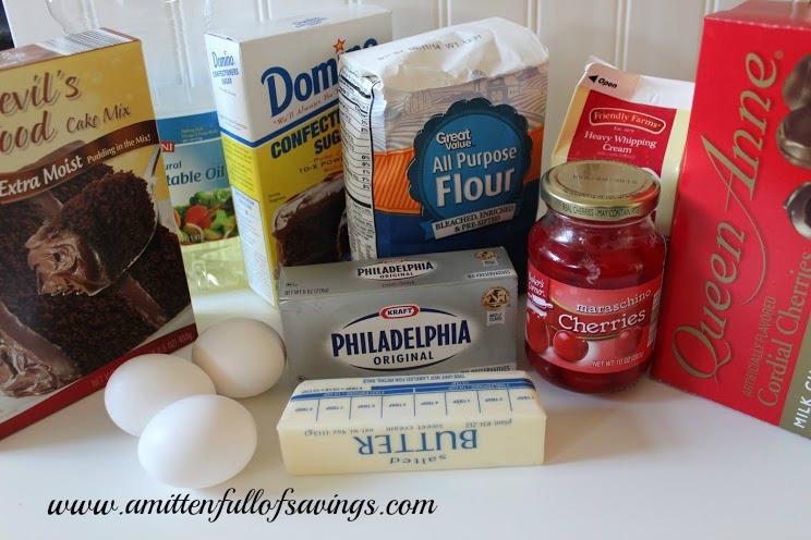 cherry cupcake process 1