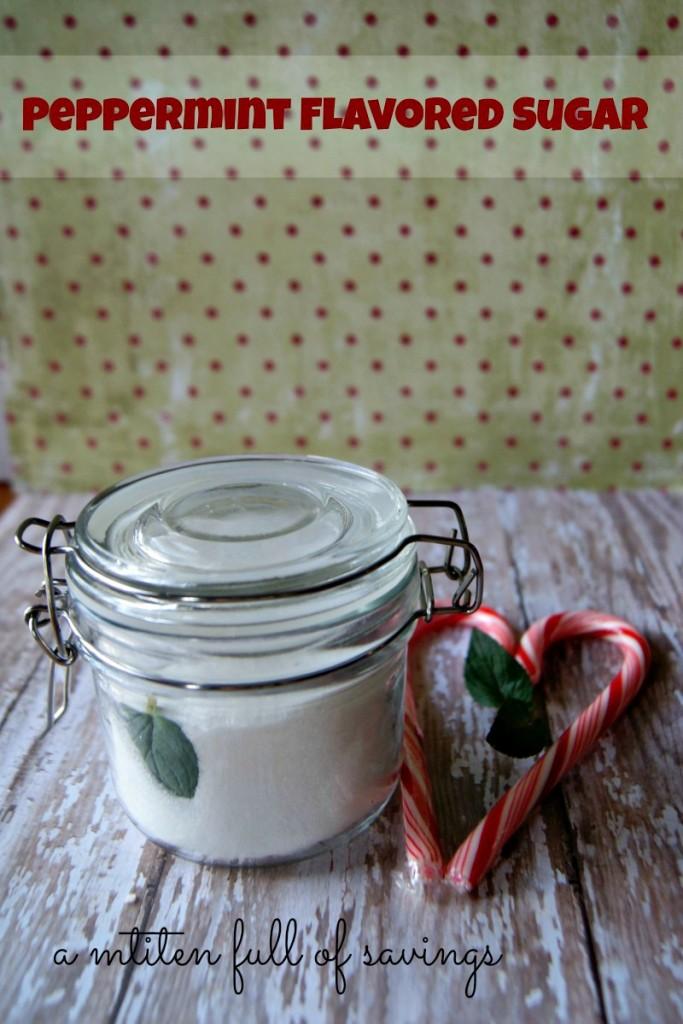 DIY: Peppermint Flavored Sugar