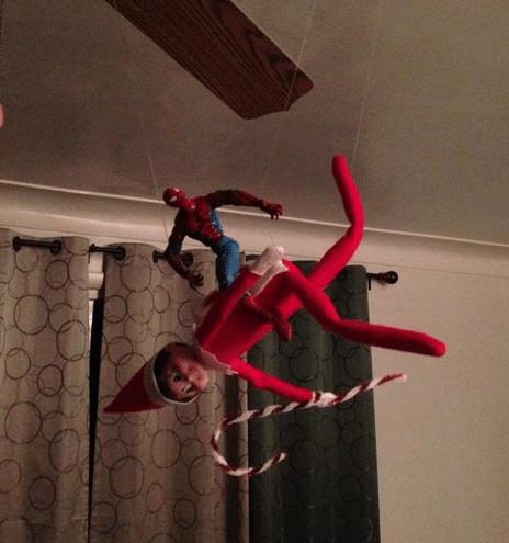 Elf and Spiderman