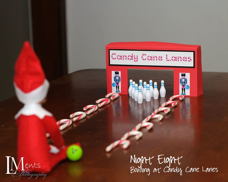 Elf goes bowling