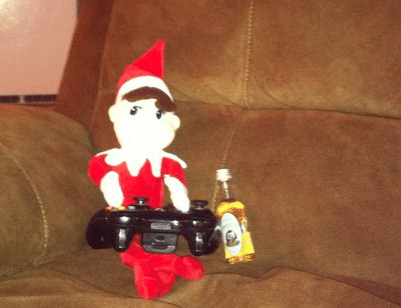 Interesting & Slightly Inappropriate Elf On the Shelf Ideas