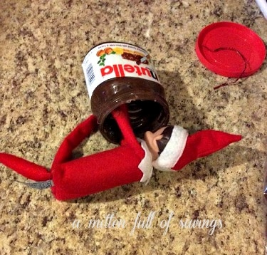 Elf Gets Chocolate Wasted
