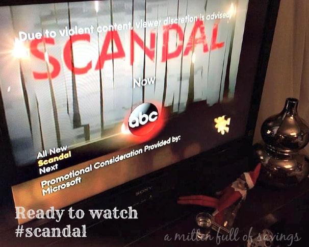 Elf watches Scandal