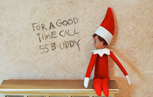 Call Buddy the Elf for a good time - Elf on the Shelf ideas