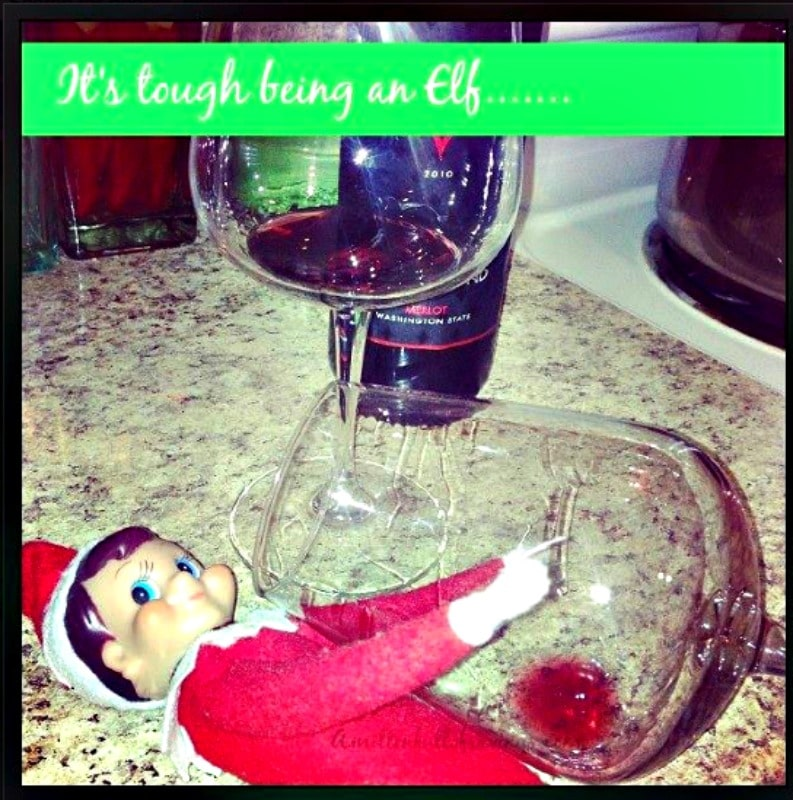 Naughty Elf on the Shelf ideas