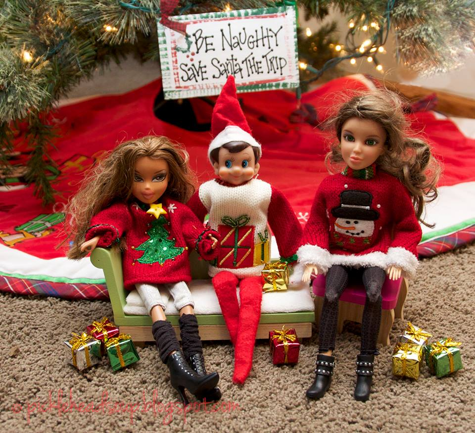 smarty the elf barbie
