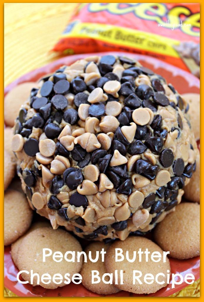 peanut butter cheese ball, peanut butter balls recipe