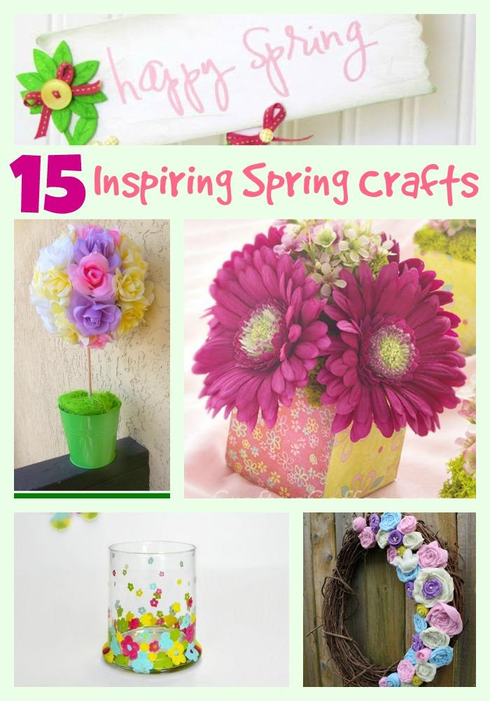 15 spring crafts