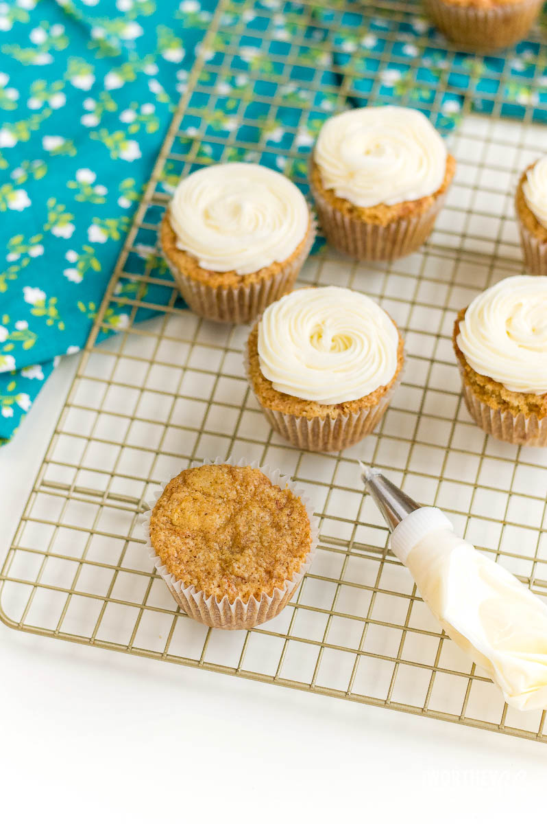 Recipe for Carrot Cake Cupcakes
