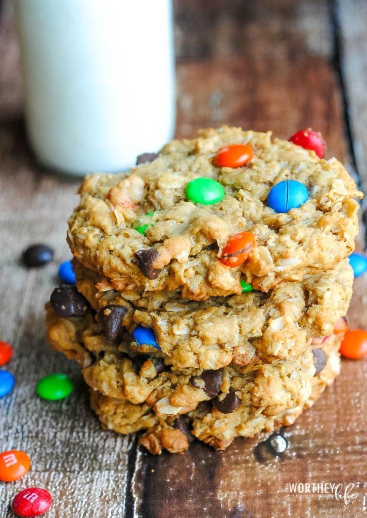 cookies monster cookies recipe