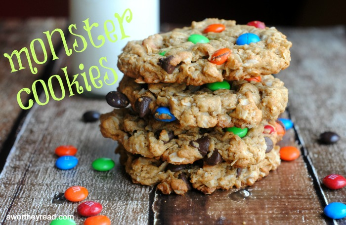 Easy Recipe for Monster Cookies