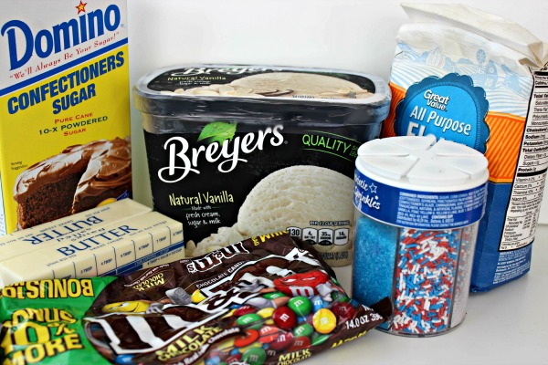 patriotic ice cream sandwich ingredients