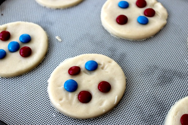patriotic ice cream sandwiches process