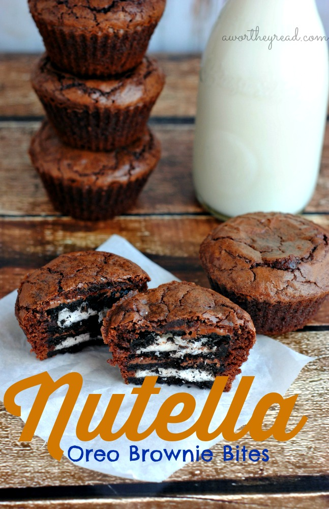 Recipe For Nutella Oreo Brownie Bites This Worthey Life