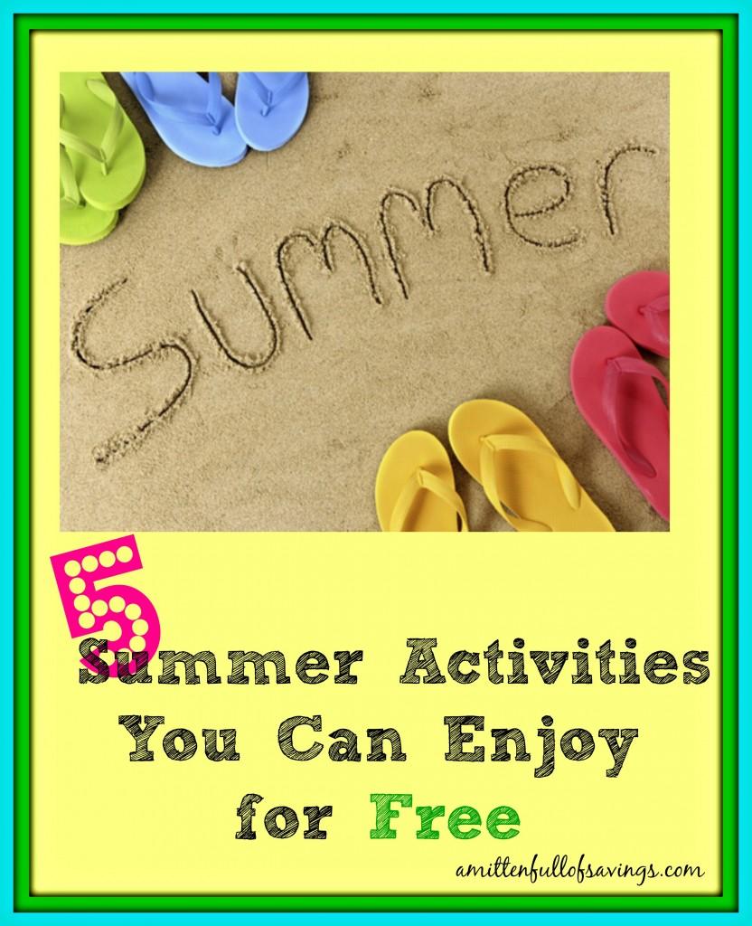 free summer activities, sumemr boredom, summer