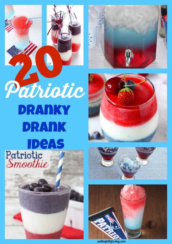 4th of july drink ideas, patriotic drink ideas