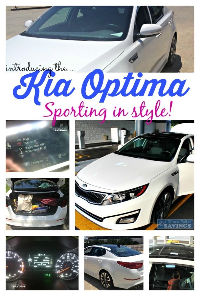 Kia Optima Sporting in style