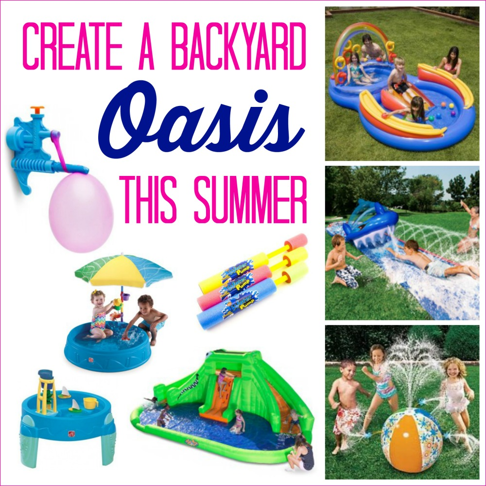 Ways to create a backyard Oasis