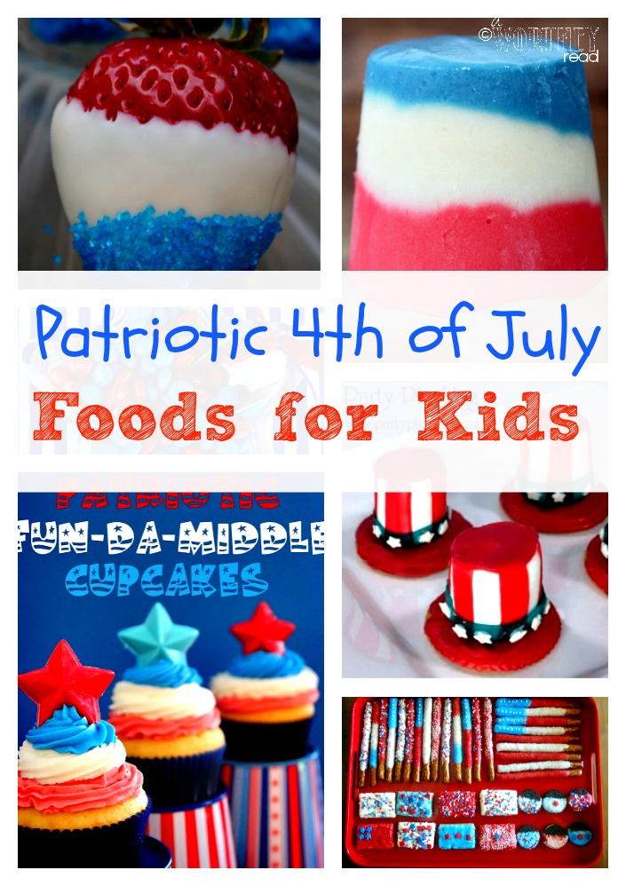 Patriotic 4th of July Foods for Kids