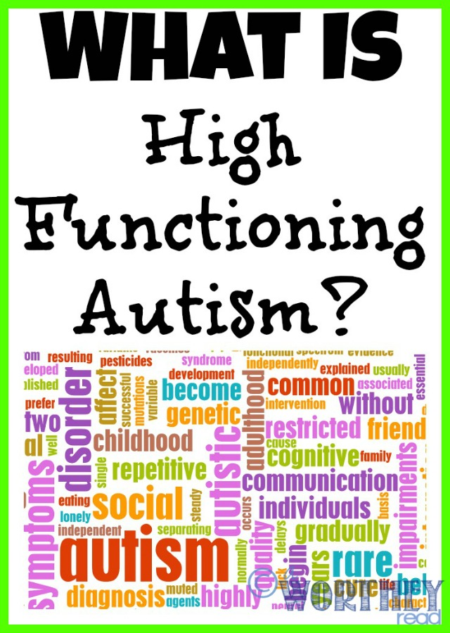 What is High Functioning Autism - This Worthey Life