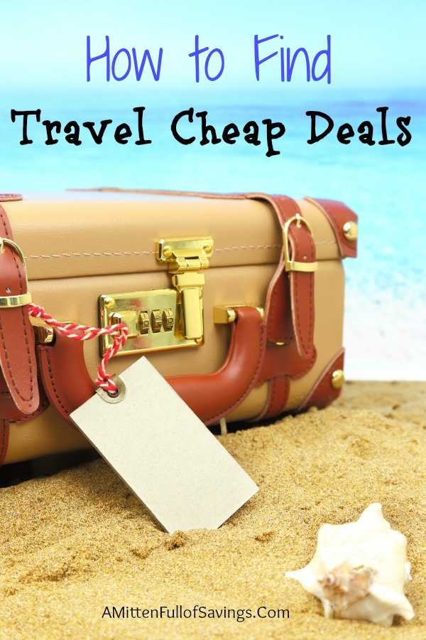 how to find travel cheap deals
