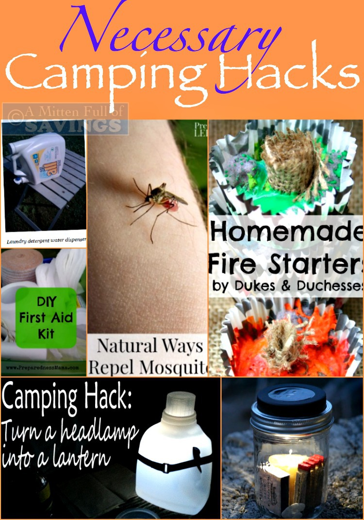 Necessary Camping Hacks