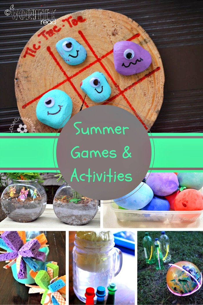 Summer Games & Activities To Try