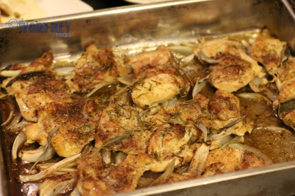 chicken and rosemary