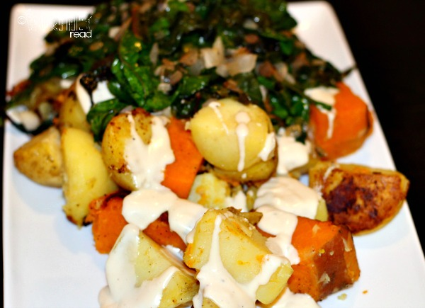 recipe for swiss chard and potatoes