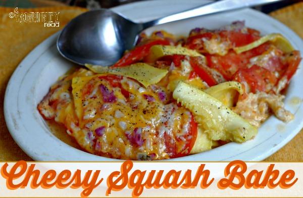 cheesy squash bake recipe