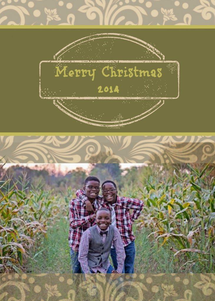 Make Modern Christmas Cards Using PicMonkey