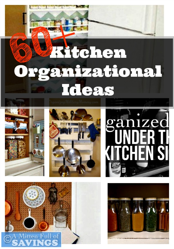 Kitchen Organizational Ideas