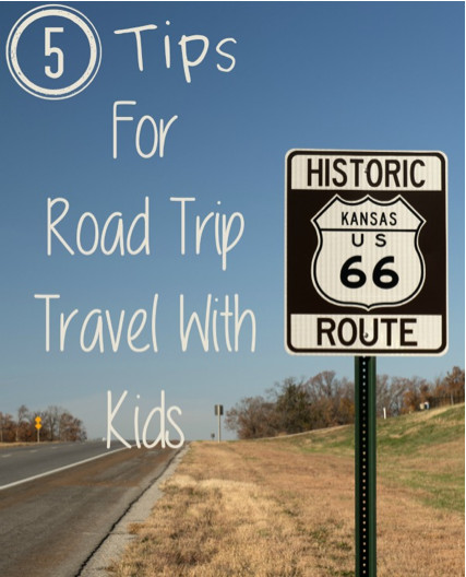 Tips for Road Trip Travel with Kids