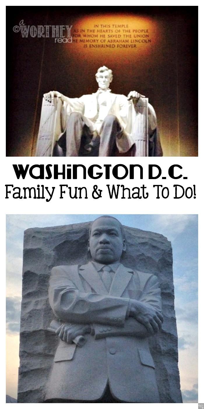 Washington DC Family Fun And What To Do