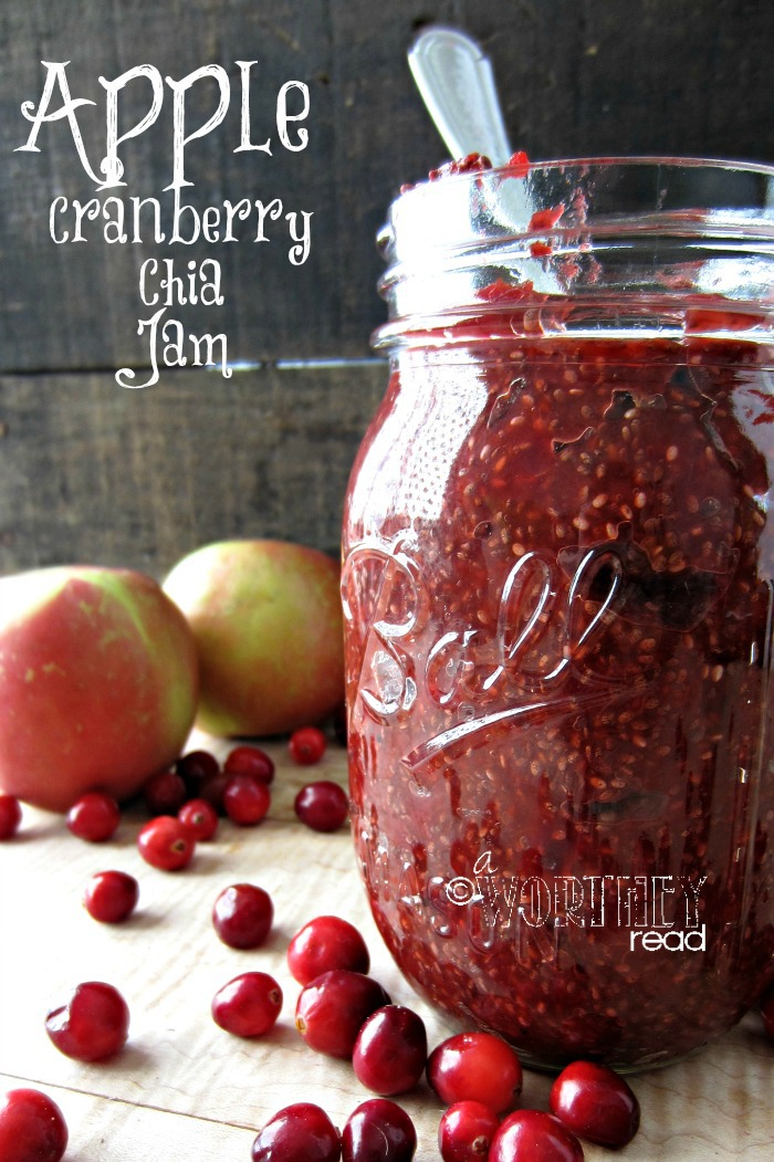 Apple Cranberry Chia Seed Jam 2