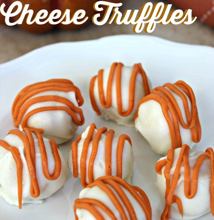 Easy Recipe for Pumpkin Cream Cheese Truffles