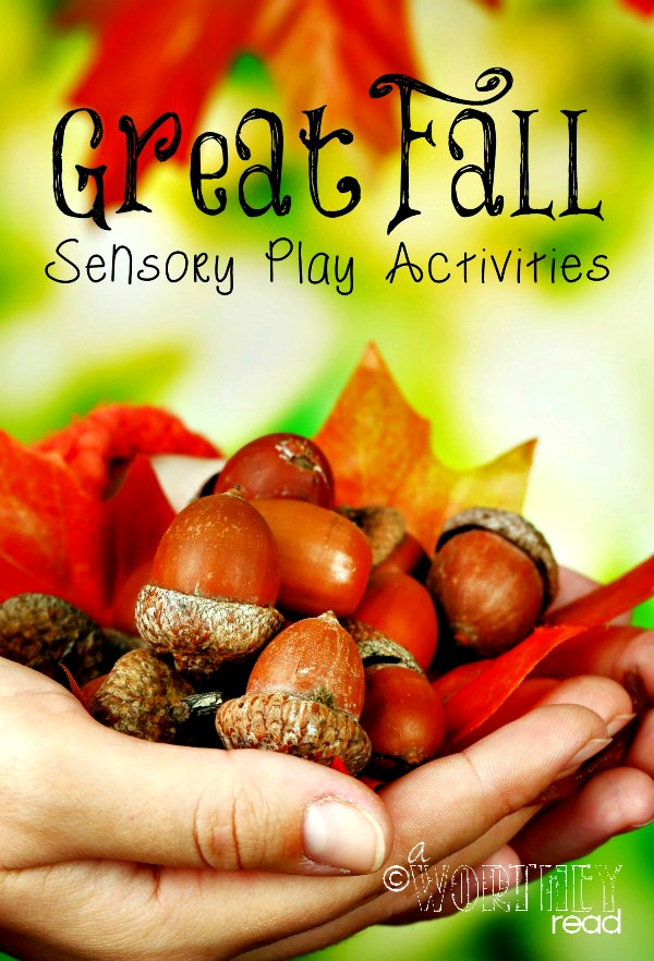 sensory ideas, fall sensory ideas, autism, sensory processing disorder