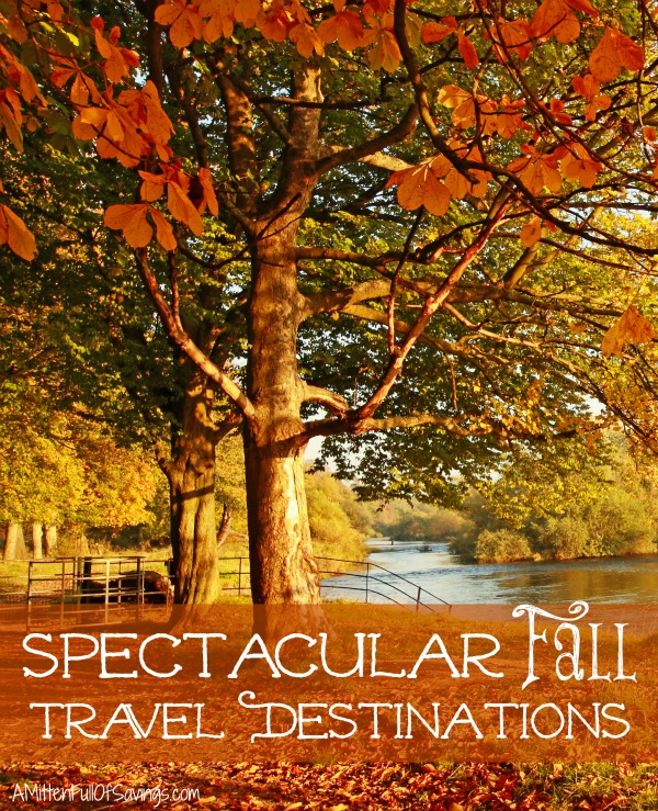Fall Travel Destinations